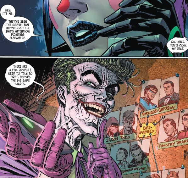 Joker Knows Bruce Is Batman But Has A Plan (Secret Files #3 Spoilers).