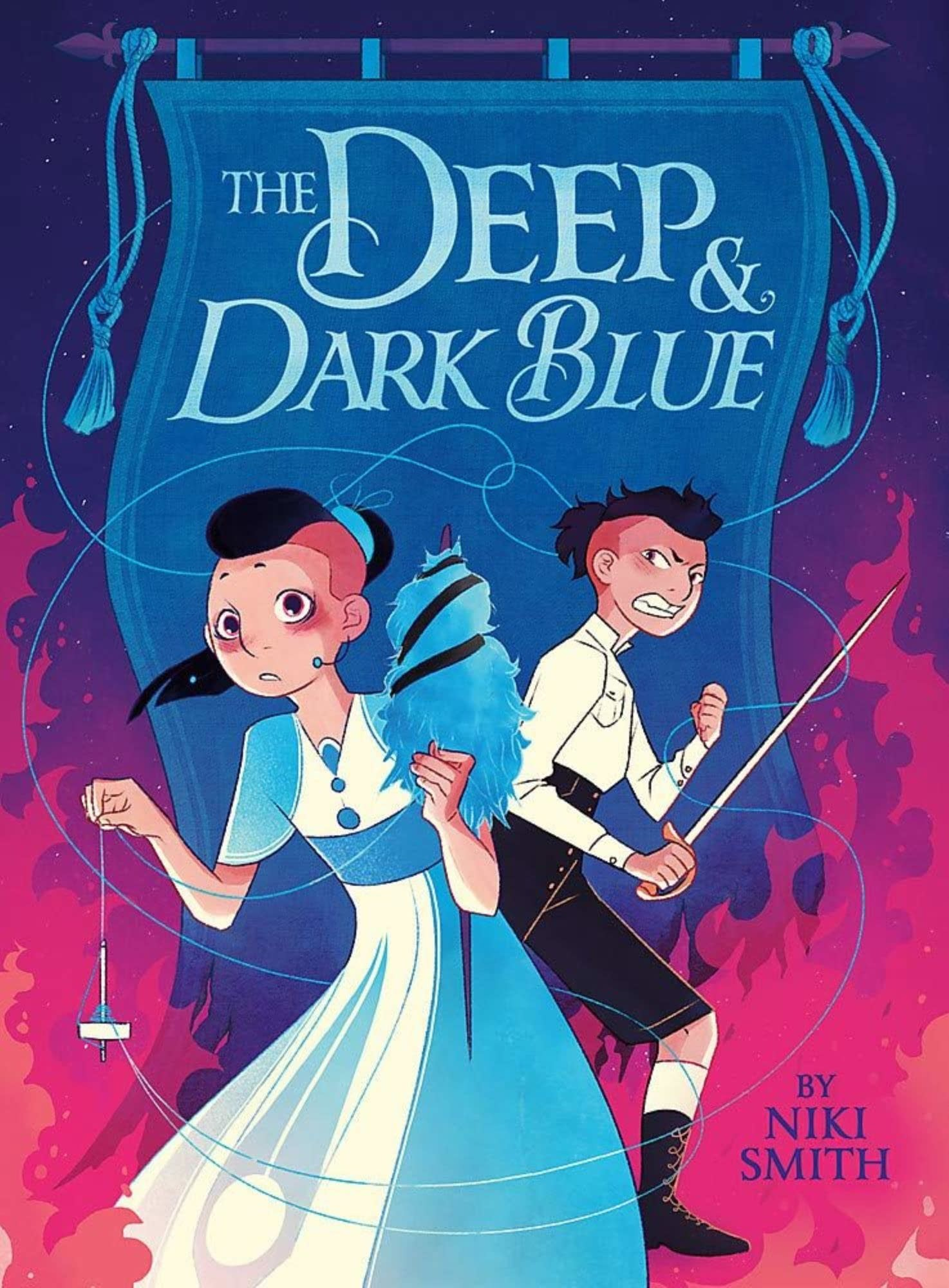 """""""The Deep & Dark Blue"""": Nikki Smith Talks about Her Pioneering LGBTQ Young Reader's Fantasy Epic Graphic Novel [Interview]"""