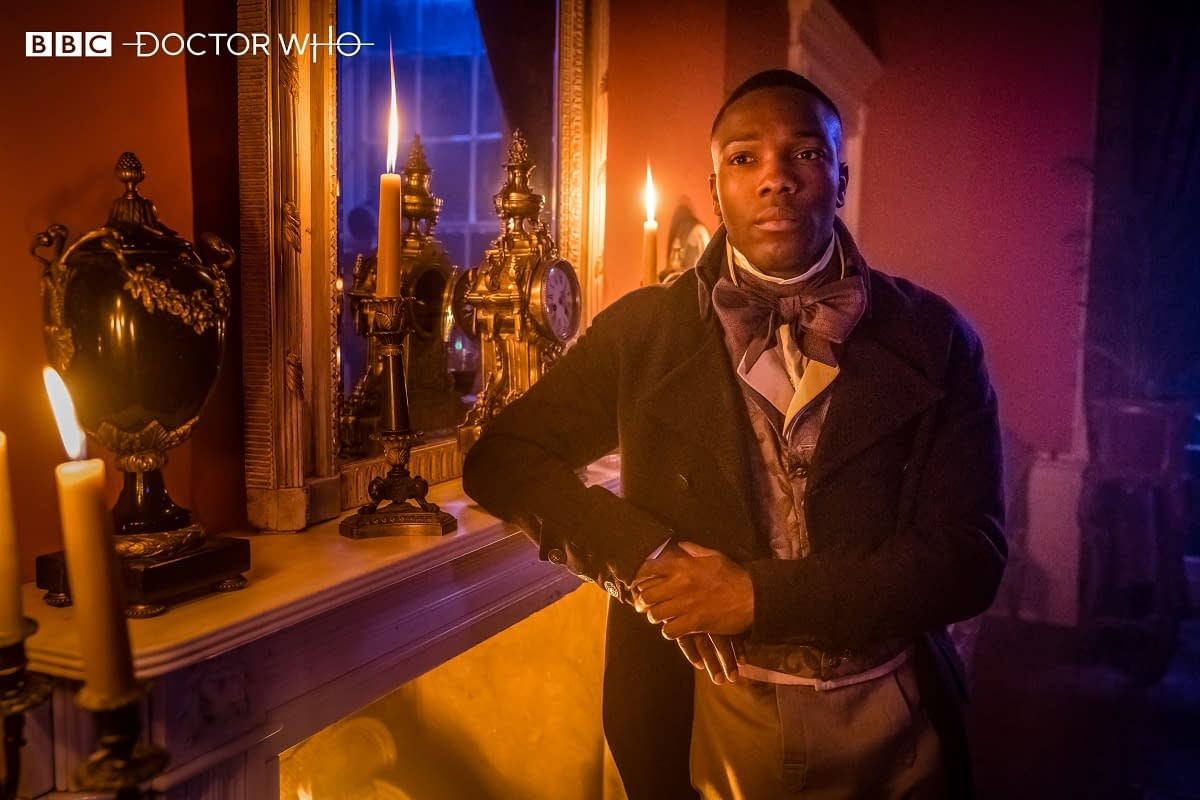 """""""Doctor Who"""" Series 12 """"The Haunting of Villa Diodati"""" Scares Up Preview Images"""