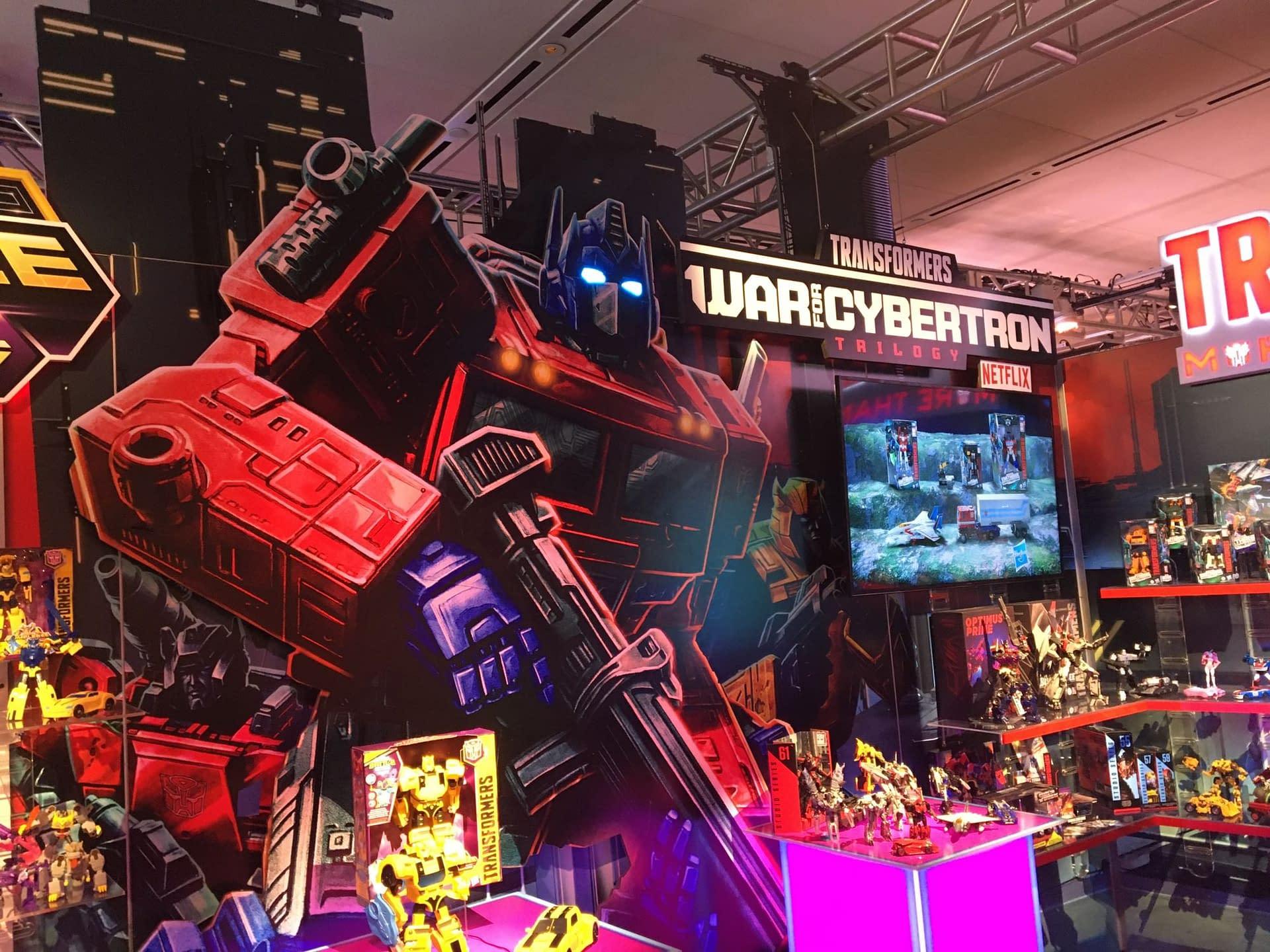 Toy Fair 2020 - Hasbro's the Transformers