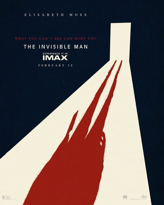 'Invisible Man': New IMAX Poster For the Blumhouse Thriller Debuts