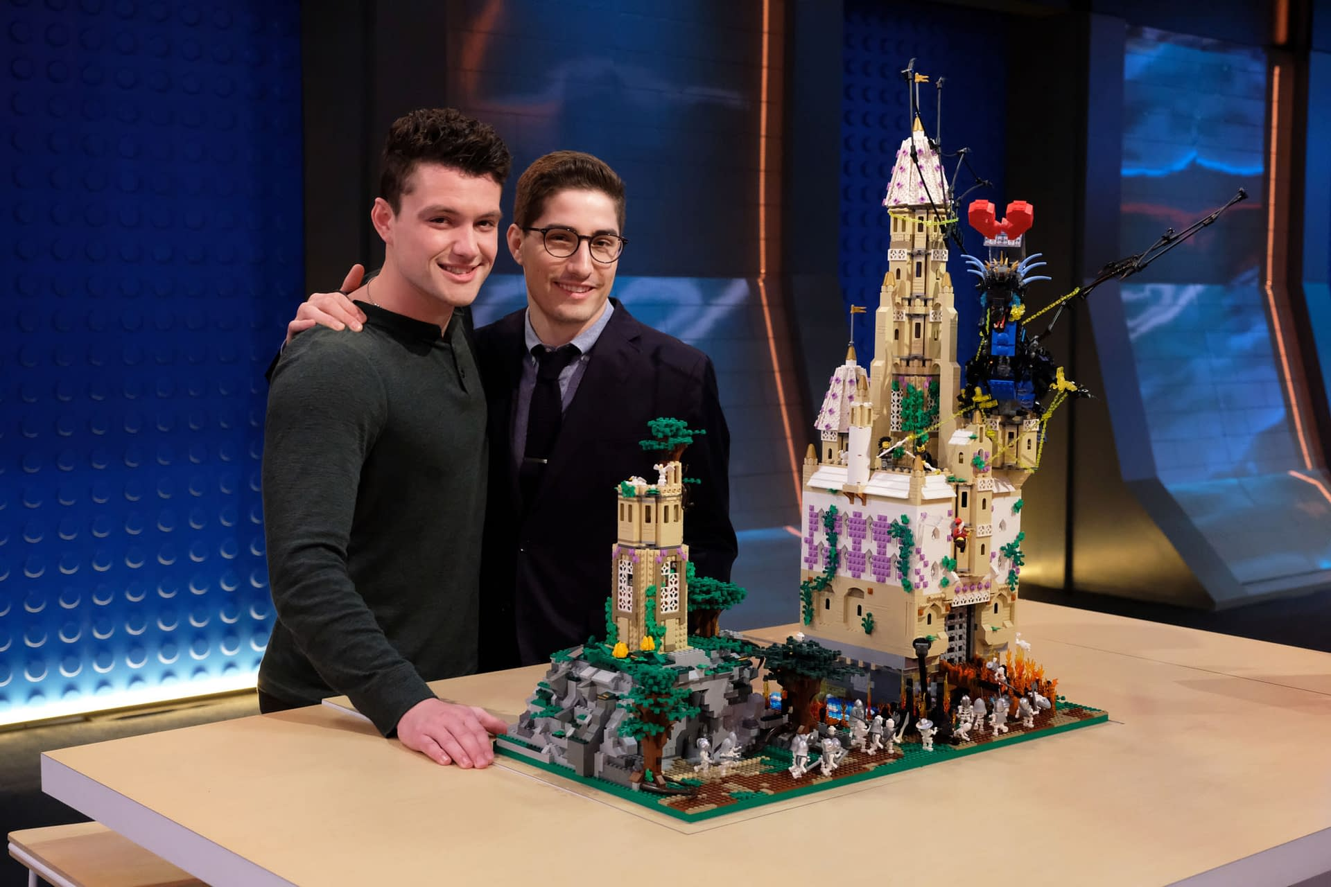 """""""LEGO Masters"""" Season 1 """"Movie Genres"""": Phil Lord, Christopher Miller (""""The LEGO Movie"""") Guest Star [PREVIEW]"""