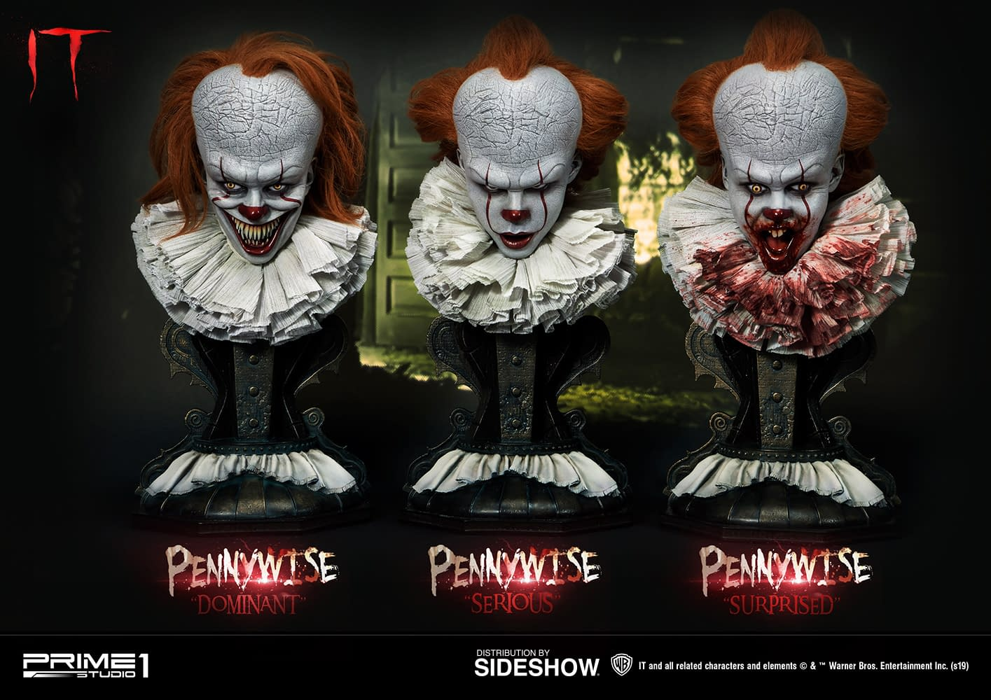 Pennywise Shows His True Faces with Prime 1 Studio