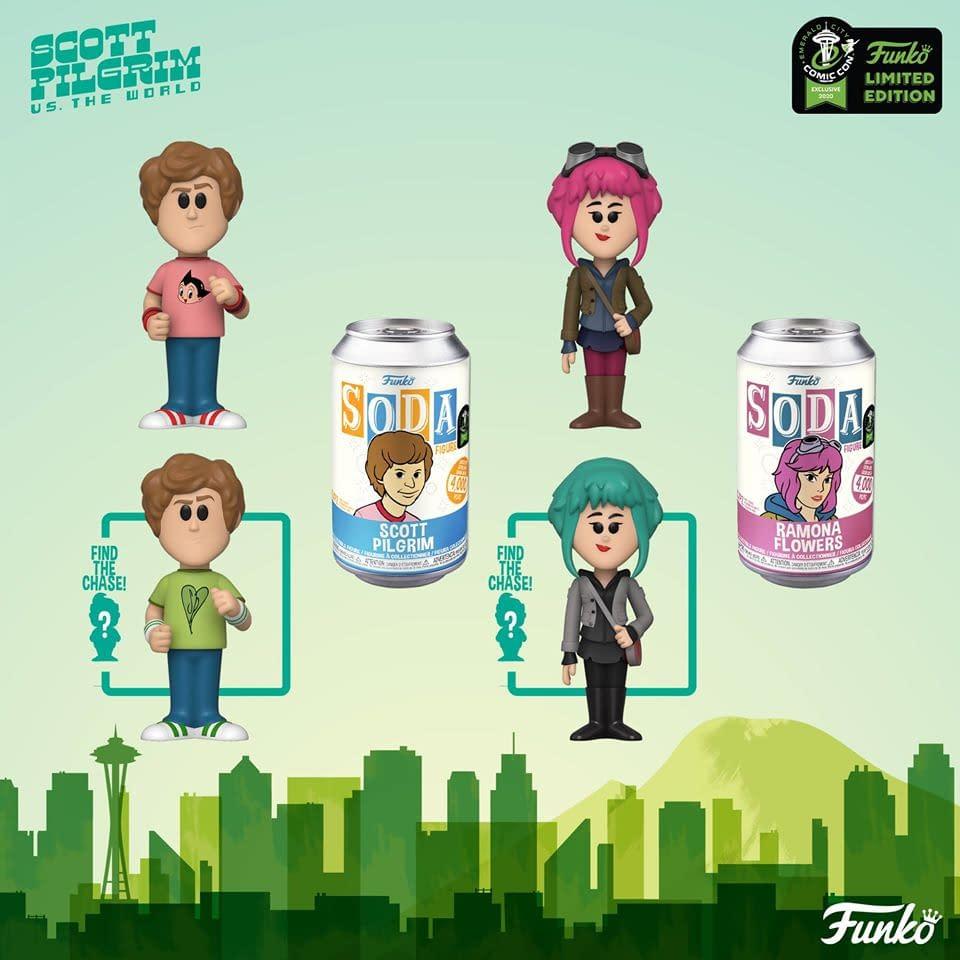 "Funko Emerald City Comic Con Reveals -""Scott Pilgrim"""