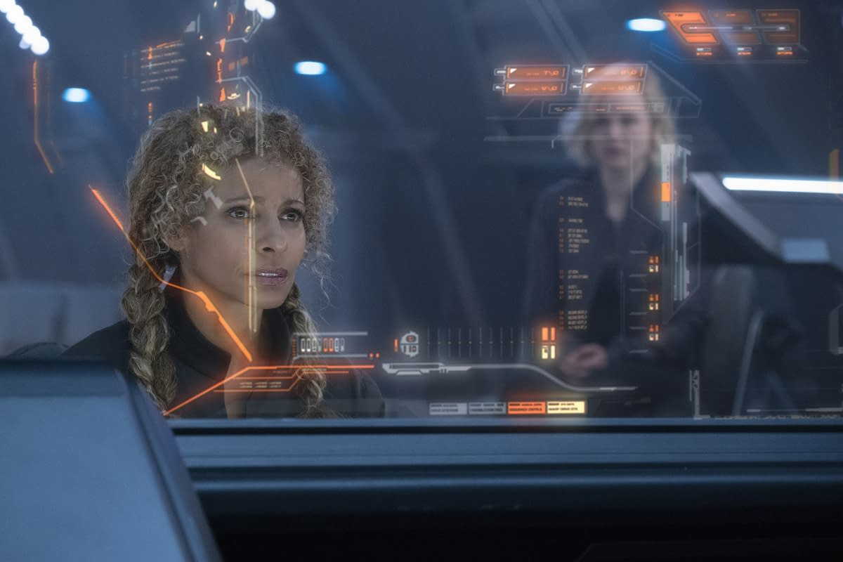Michelle Hurd in Star Trek: Picard