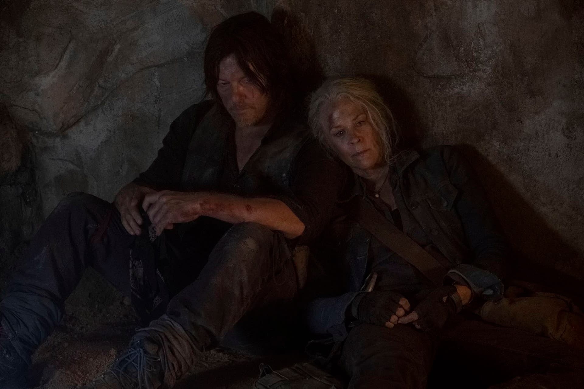 """""""The Walking Dead"""" Season 10: Yup, Those Were Exclusive Pics You Posted, Melissa McBride – Thanks! [PREVIEW]"""