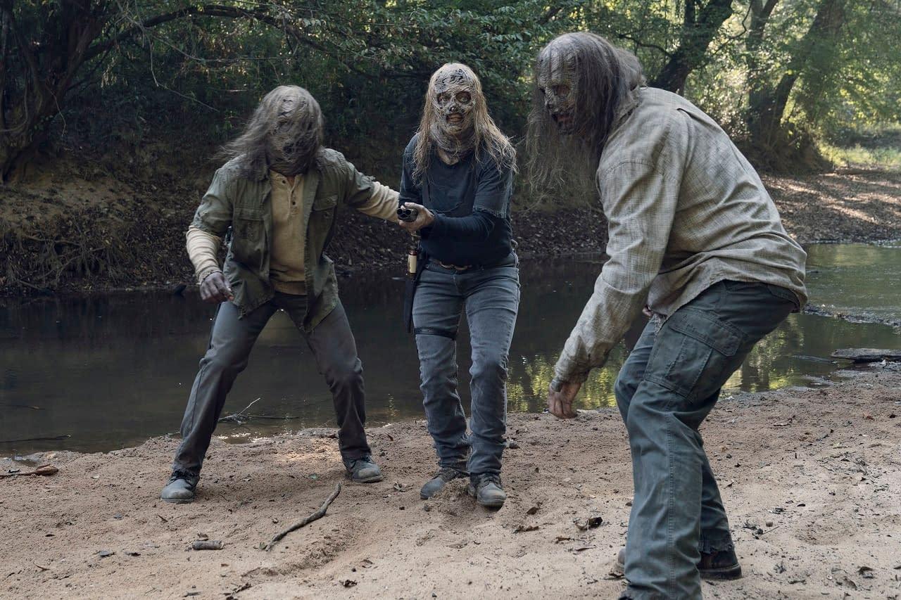 """The Walking Dead"" Season 10 ""Stalker"": Beta Goes Underground [OPENING MINUTES]"