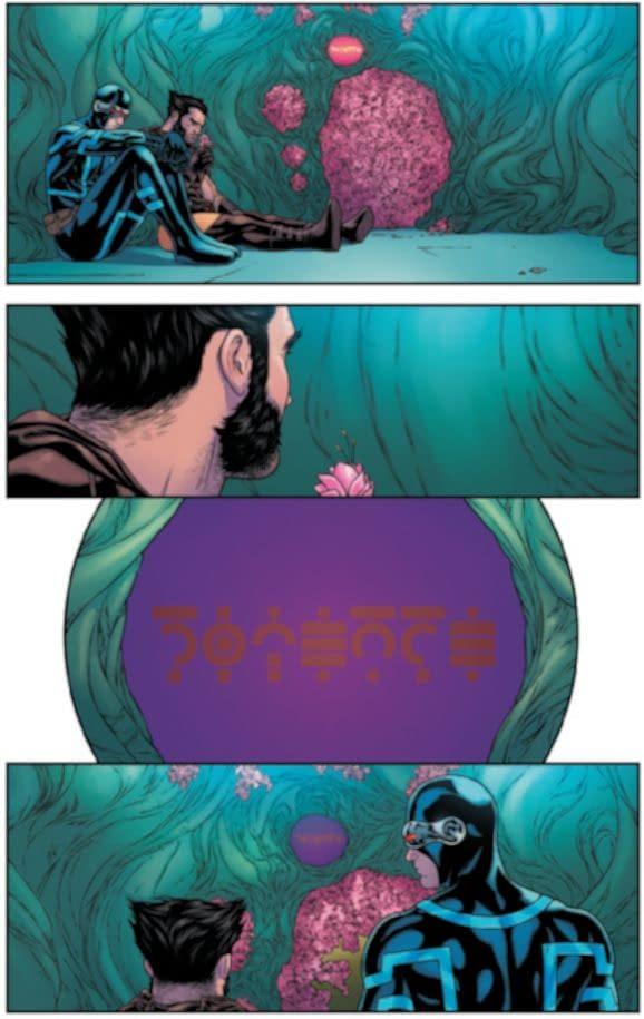 Giant-Size X-Men: Jean Grey & Emma Frost – Silence, Psychic Rescue In Progress from New X-Men #121, Reprised (Spoiler)