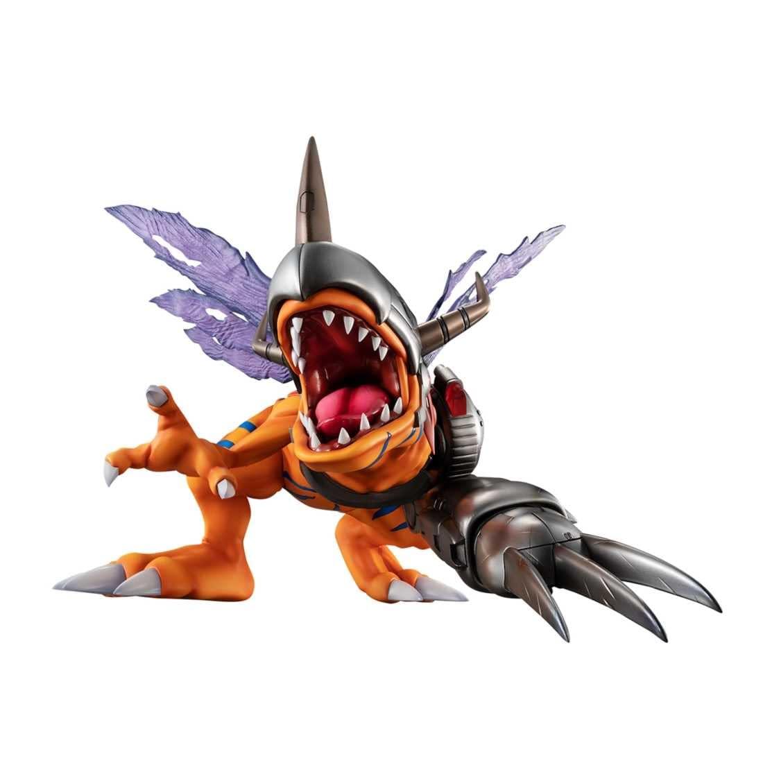 """Digimon"" Returns with MetalGreymon Statue from Megahouse"