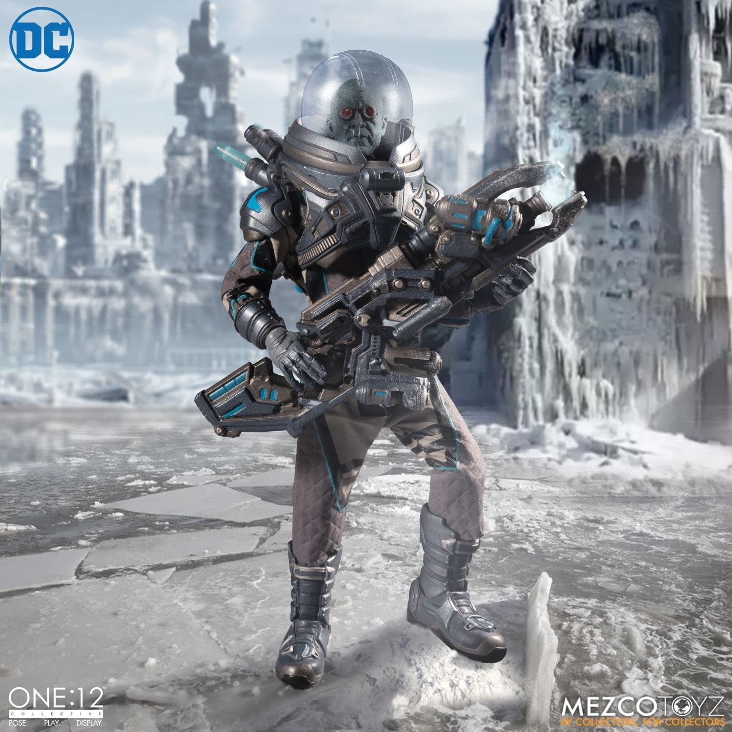 Mr. Freeze Brings the Ice Age with New One:12 Mezco Toyz