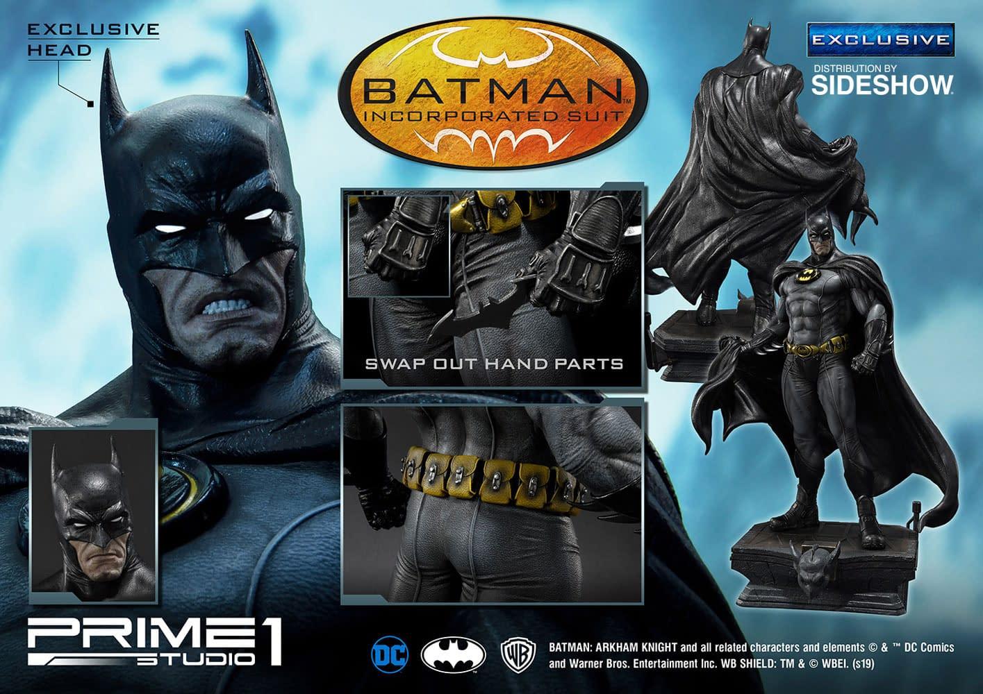 Batman Incorporated Prime 1 Studio Statue Goes to Sideshow