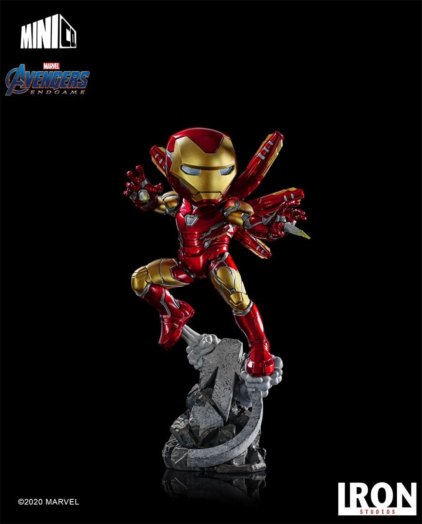 Iron Man and Captain America Get Minico Statues with Iron Studios