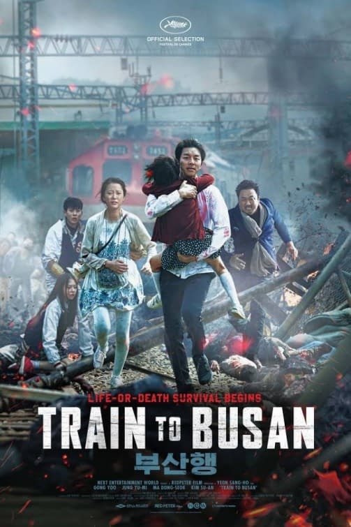 5 Asian Films on Netflix - TRain to Busan