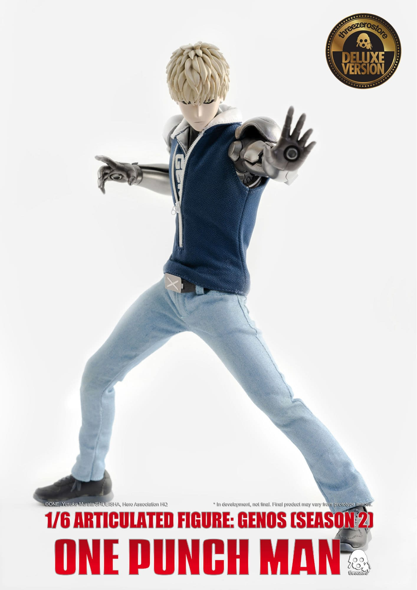"""""""One Punch Man"""" Genos Brings His A Game with Threezero"""