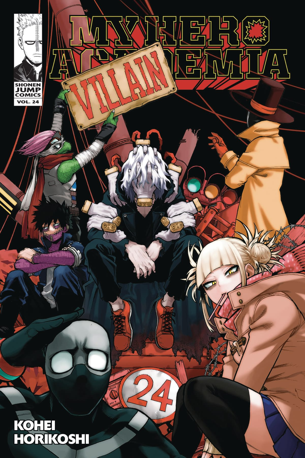 MY HERO ACADEMIA GN VOL 24