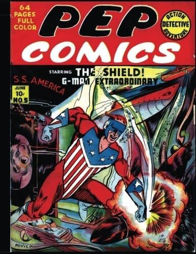 The cover to Pep Comics #5