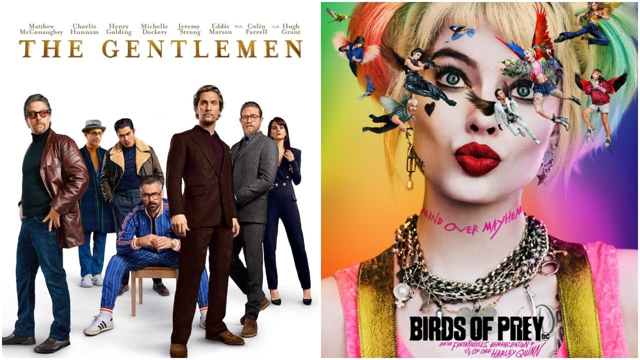 """Birds of Prey"" and ""The Gentlemen"" Move Their VOD Dates to Next Week"