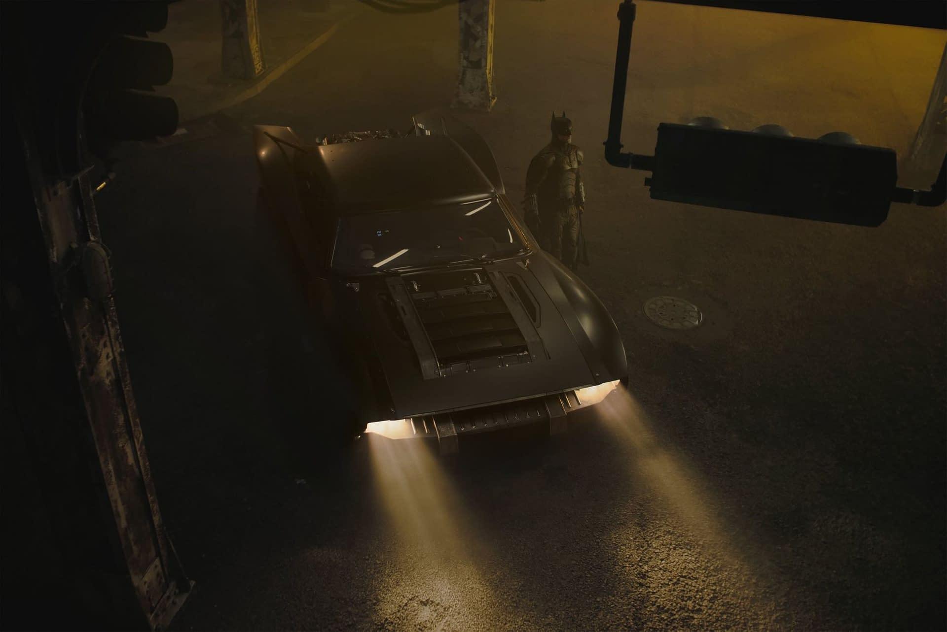"""The Batman"" Director Matt Reeves Shares 3 New Images of the Batmobile"