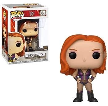 Becky Lynch funko pop for WrestleMania