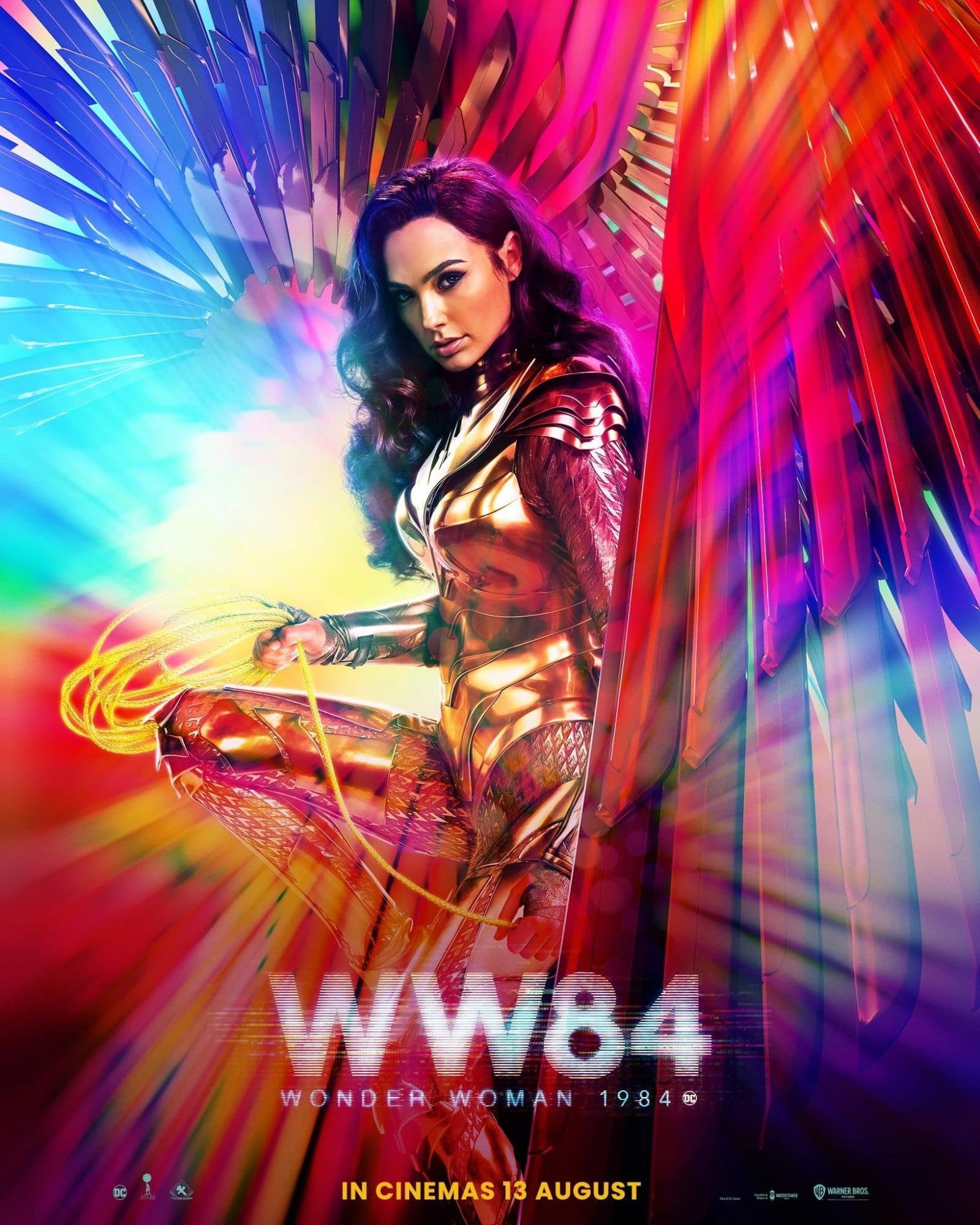 Wonder Woman 1984 poster for a new release date