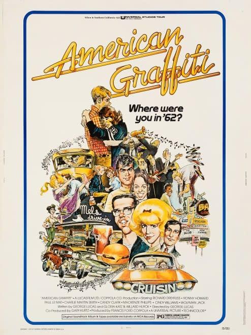 Mort Druckers poster for American Graffiti.