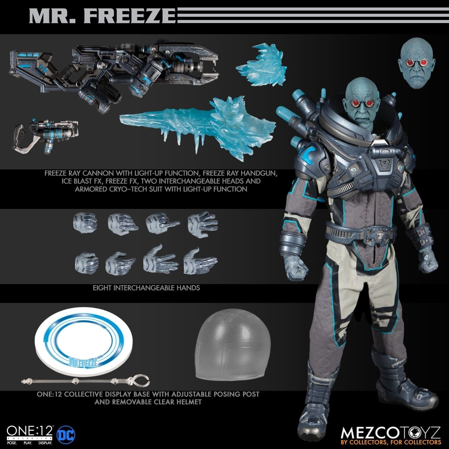 Mr. Freeze One:12 Collective Figure from Mezco Toyz