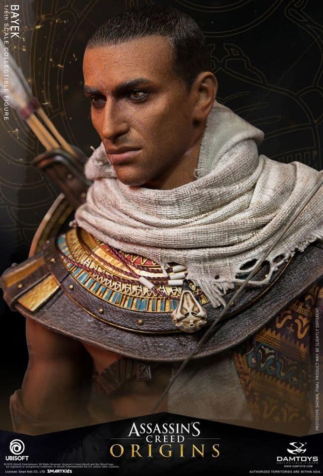 Assassin's Creed Origins Bayek Figure from Damtoys