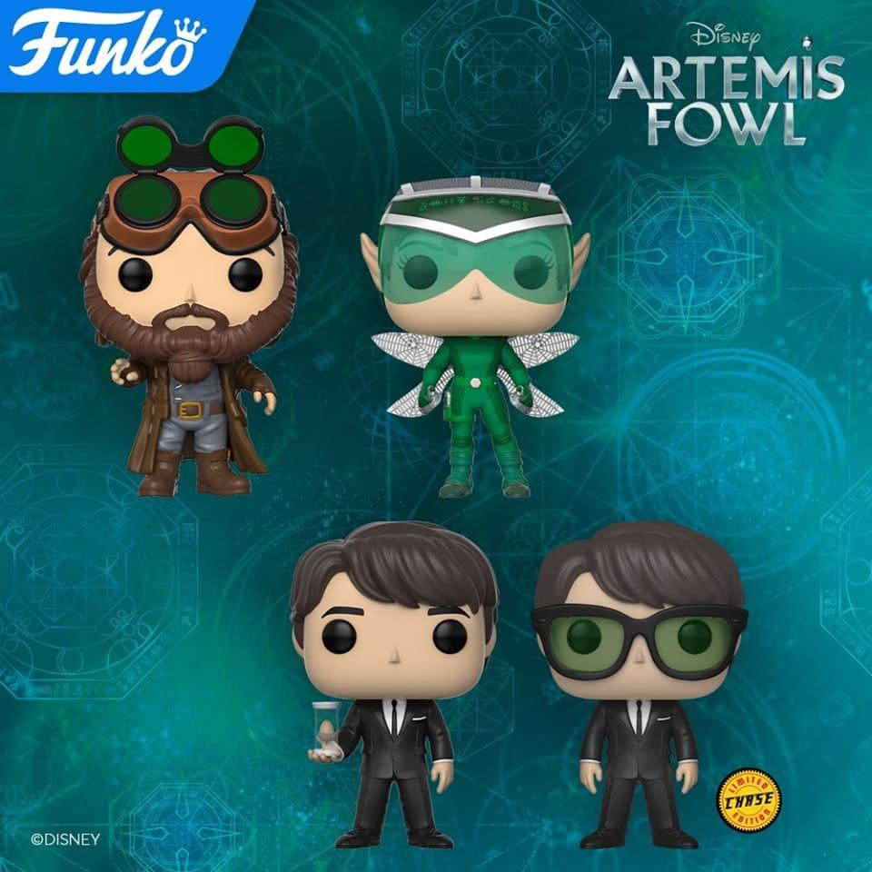 Artemis Fowl Funko Pops Wave 1