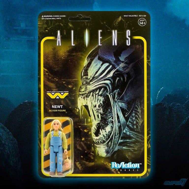 Super7 Aliens ReAction figures.