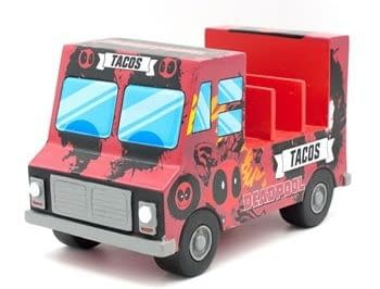 The Deadpool Taco Truck Letter Holder from Fun.com for your nerdy office set-up