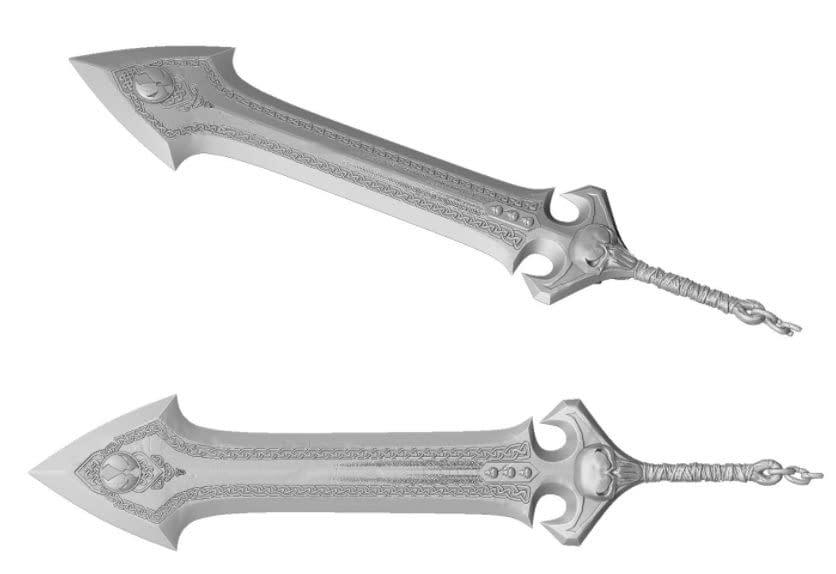 Spawn McFarlane Toys Kicker Starter Campaign Weapons