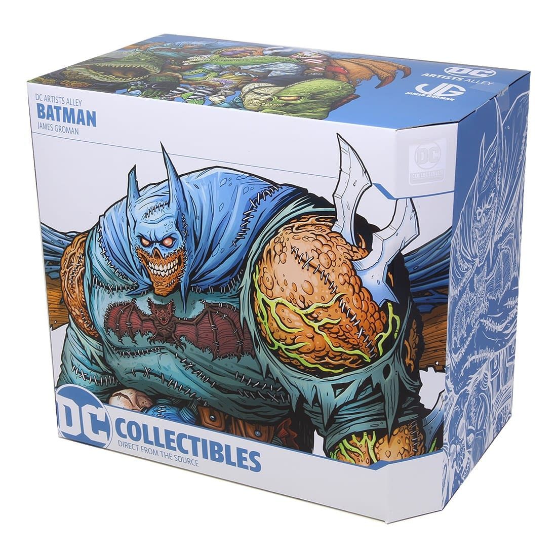 DC Direct Artist Alley Mutant Batman