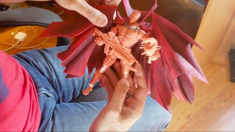 Spawn McFarlane Toys Kicker Starter Campaign Screencap