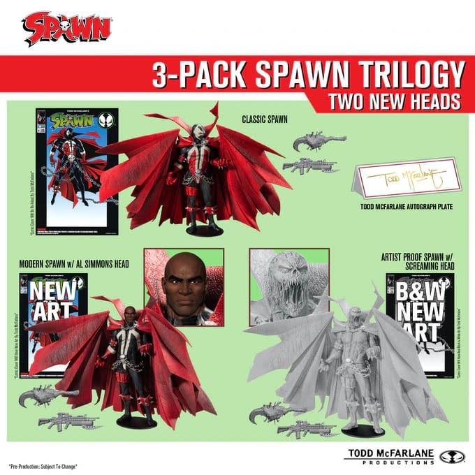 McFarlane Toys Kickstarter Spawn Campaign