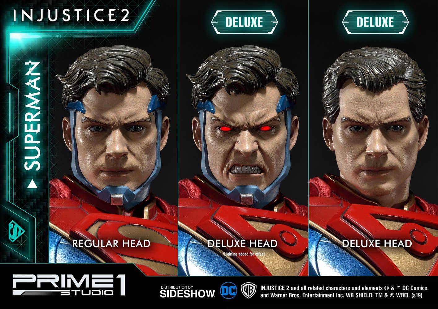 Injustice 2 Superman Statue from Prime 1 Studios