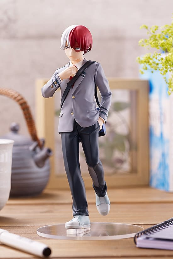 My Hero Academia Shoto Todoroki Uniform Statue from Good Smile Company
