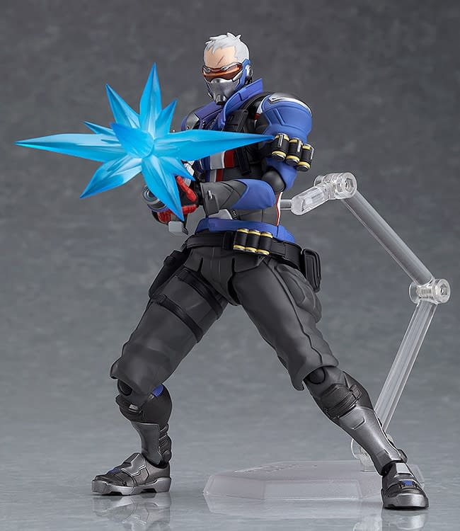 Overwatch Soldier 76 figma