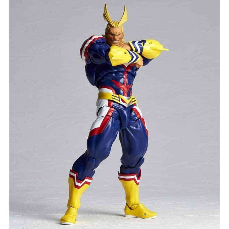 My Hero Academia All Might Revoltech figure from Kaiyodo