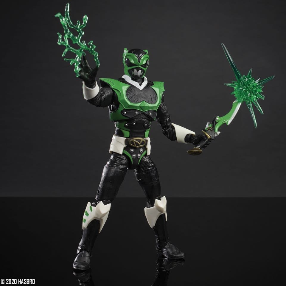 Power Rangers Lightning Collection In Space Psycho Green Ranger Figure (Hasbro Pulse Exclusive)