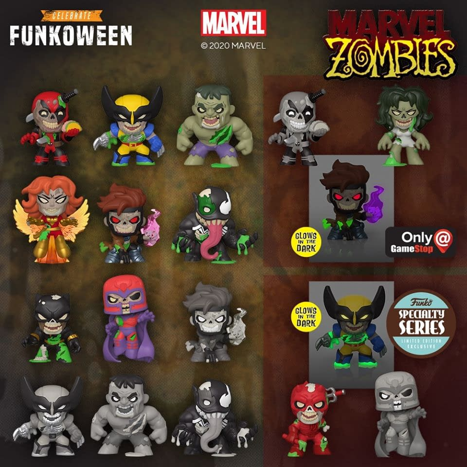 Marvel Zombies Rise from the Grave for Funko Funkoween