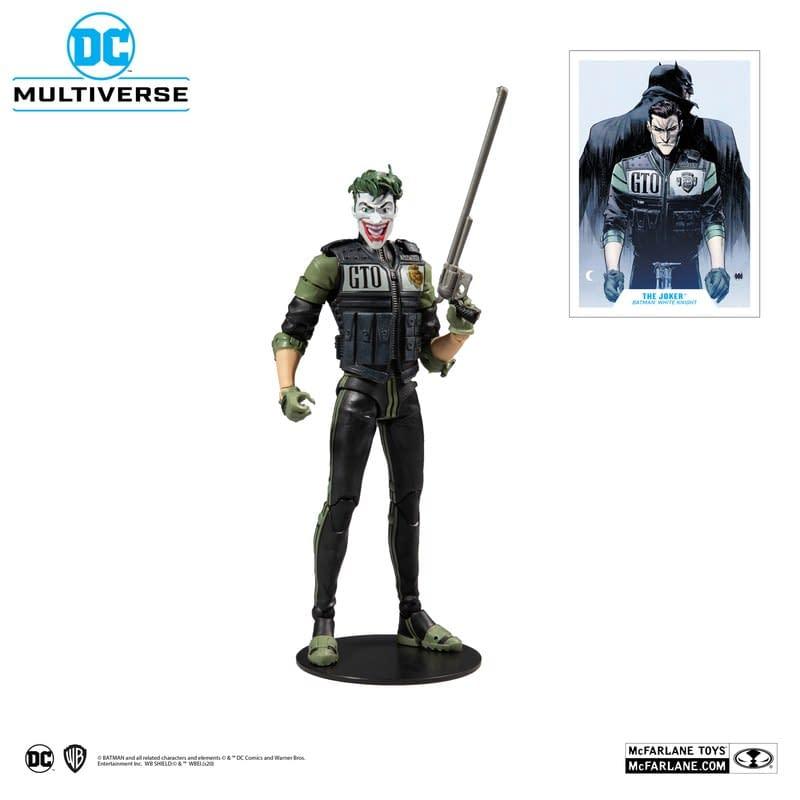 McFarlane Toys Announces Batman: White Knight Figures Are Coming