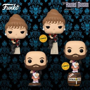 Funko Haunted Mansion Pops and Chases