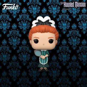 Funko Haunted Mansion Pops releasing soon.
