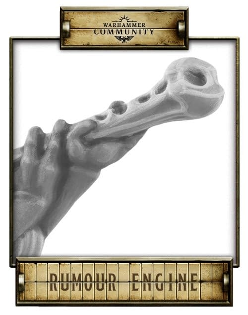From the Games Workshop Rumour Engine: An instrument... Made of bone?