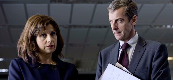 Nicola Murray Was In Love With Malcolm Tucker In The Thick Of It.