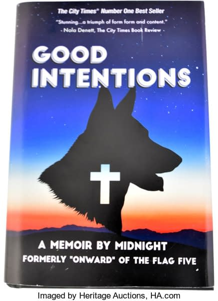 A photo of Good Intentions from The Tick, image by Heritage Auctions, HA.com