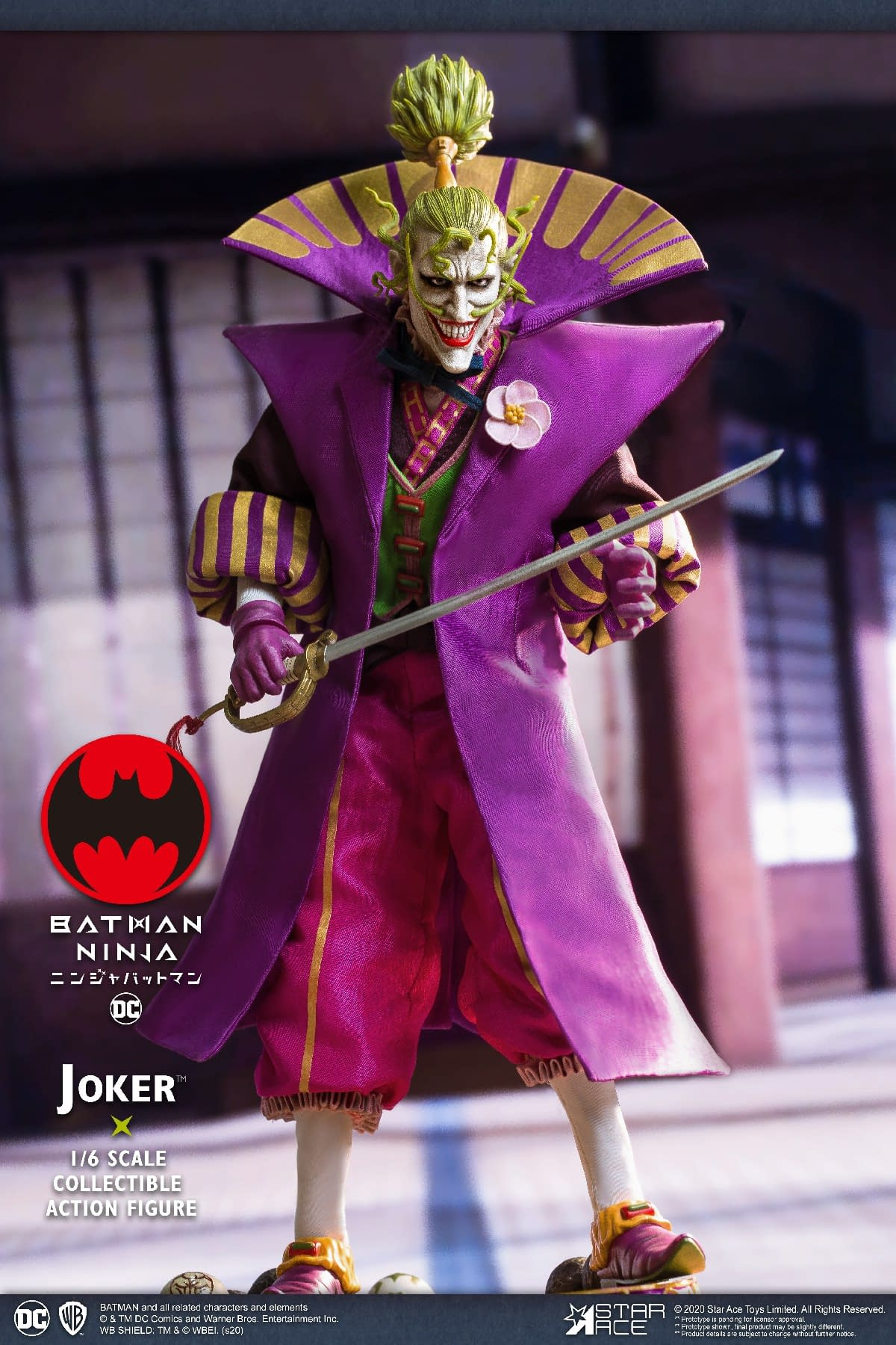 Lord Joker From Batman Ninja Gets A Figure With Star Ace Toys