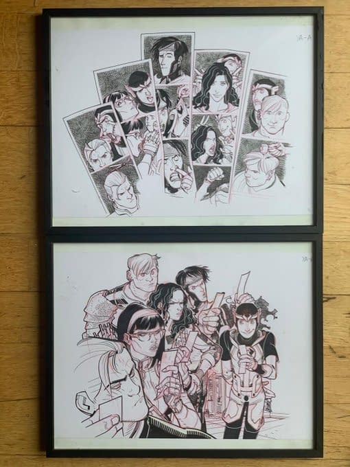 3 For #ComicWritersChallenge From Greg Hildebrandt, Walt Simonson, David LaFuente.