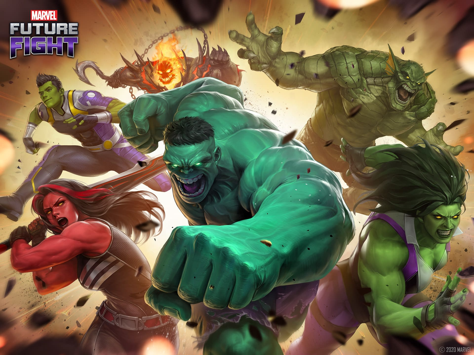 Marvel Future Fight Best Characters 2021 Marvel Future Fight Receives The Immortal Hulk Update