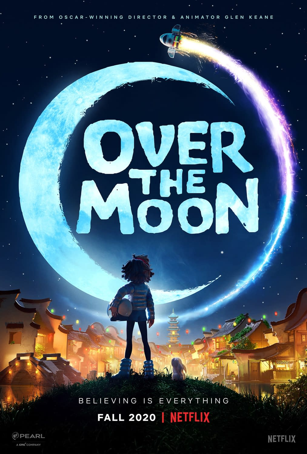 Over The Moon Trailer And Poster Debut For Netflix Animated Feature